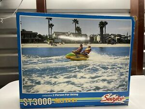 Ski Bob ST3000 Sled Boat Towable Water Tube Jet Ski Two Person Sled New Open Box