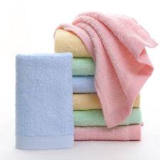 3pcs Bamboo Fiber Baby Kids Towel Soft Comfortable Antibacterial Washcloth