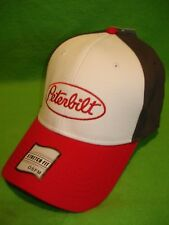 Peterbilt Hat:      Fitted / Back Cap / Solid Cloth    *FREE SHIPPING IN U.S.A.*