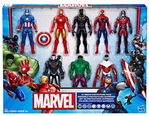 Marvel Ultimate Protectors Action Figure 8-Pack - Authentic Hasbro, NEW