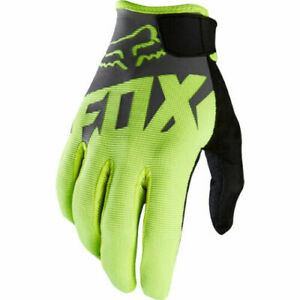2020 Fox Racing Mens Ranger Racing Mountain Bike BMX MTX MTB Gloves Flo Yellow