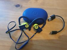 Beats By Dre Powerbeats3 Wireless Bluetooth Ear Phones Head Phones Navy And Lime
