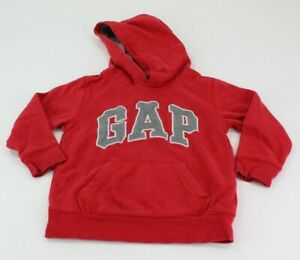 Baby GAP Kid's Unisex Sweatshirt Red Size 4