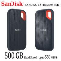 SanDisk Extreme 500GB externe tragbare SSD SDSSDE60 mit Sendungsnummer
