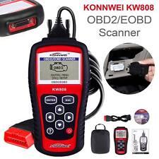Escáner de KW808 OBD2 puede Herramienta de restablecimiento de motor KONNWEI lector de código de diagnóstico coche Reino Unido
