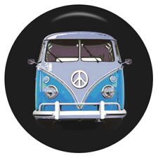 Button Click Klick 5573 EMAILLE Bulli VW Bus Hippie - kompatibel Chunk Armband