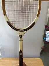 Vintage Wood/Fibre Face Wilson Embassy Tennis Racquet. Excellent Condition!