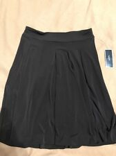 Alfani Petite Skirt Sz PS Brown Espresso Bean Tribal Mode  Business Casual