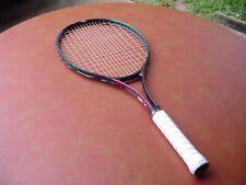 Dunlop Power Plus Oversize Tennis Racquet 4 3/8 w Pro Overwrap