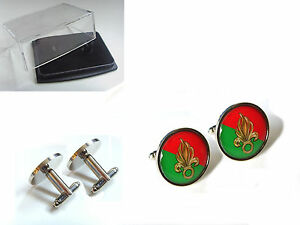 FRANCE FRENCH FOREIGN LEGION BADGE MENS CUFFLINKS CUFF LINKS GIFT