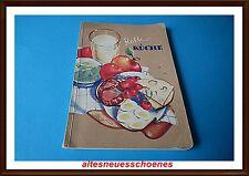 seltenes antikes Kochbuch-Kalte Küche- Jugendstilzeit wunderschöne Aufmachung
