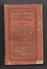 10924-LE PROSES OF PIETRO BEMBO 1824