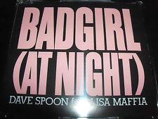 Dave Spoon Ft Lisa Maffia Bad Girl (At Night) Australian Remixes CD Single