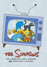 The Simpsons - The Complete First Season (DVD, 2001, 3-Disc Set) Free Shipping