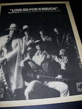 Osmonds 1974 Promo Poster Ad Love Me For A Reason mint