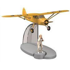 TIM & STRUPPI Flugzeug Rastapopoulos Figur Tintin Moulinsart Flugzeugmodell (L)