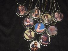 walking dead theme Bottle Cap Necklaces party favors lot of 10
