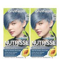 Garnier Nutrisse Ultra Color Nourishing Hair Color Creme, DN1 Light Cool Denim