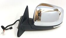 Jeep Grand Cherokee Chrome Power Heated Memory Driver Side View Mirror OEM