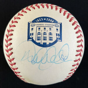 Derek Jeter Signed Baseball Autographed Steiner Yankee Stadium Final Season JSA