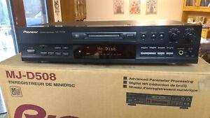 Pioneer MJ-D508 Minidisc Recorder