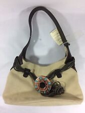 Vintage Capaccioli Italy Suede Ladies Purse With Embellishments.