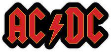 """ACDC AC DC AC/DC sticker decal 6"""" x 3"""""""