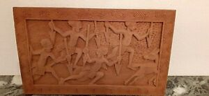Tableau sculpture en bois. AFRIQUE - SCULPTURE BOIS MASSIF