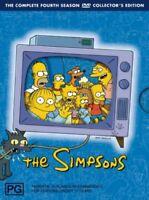 The Simpsons : Season 4 (DVD, 2007, 3-Disc Set) Collectors Edition R4, PAL RARE