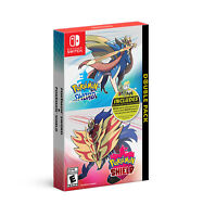 Pokemon Sword and Shield Double Pack (Switch, 2019)