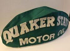 Vintage 50s QUAKER STATE Oil Gas Station Service Attendant Cloth Cap Hat NOS
