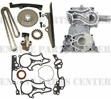 CLOYES HEAVY DUTY TIMING CHAIN+COVER KIT w/STEEL GUIDE for Toyota 22R 22RE 85-95