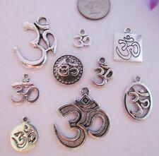 5 Or 10PCs Om Aum Ohm Yoga Mediation Wholesale Necklace Pendants C1684-2