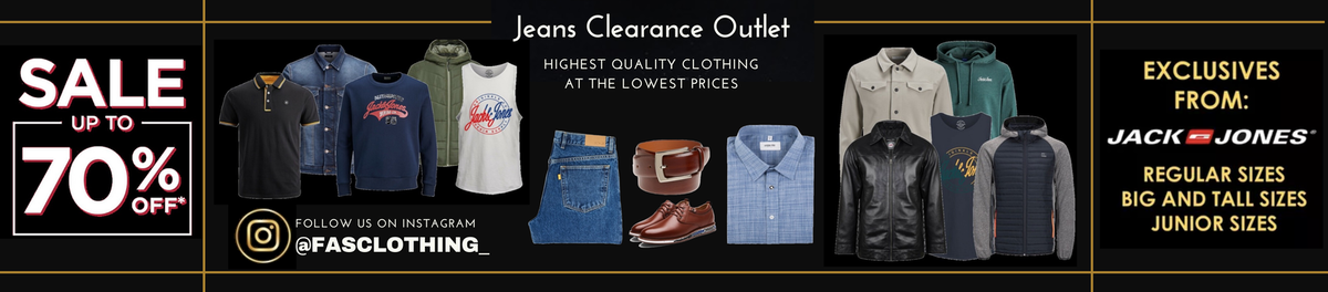 jeans clearance outlet