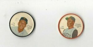 1962 Salada Baseball Coin -Orlando Cepeda #175 near mint  (see scan)