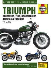 Triumph Bonneville Motorcycle Repair Manuals & Literature