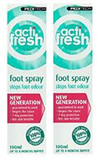 2-pack Peditech Actifresh Odour Control Foot Spray 100ml