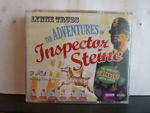 THE ADVENTURES OF INSPECTOR STEINE (3rd SERIES) - LYNN TRUSS - 3 x CD AUDIO BOOK