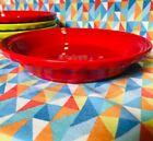 Fiesta Deep Dish Pie Baker Plate SCARLET RED NEW Fiestaware SHIPS FREE