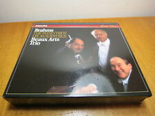 Brahms The Piano Trios Beaux Arts Trio West Germany Philips 1987 CD PDO 1st