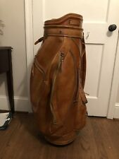 Burton Leather Vintage Golf Bag