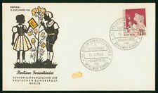 Mayfairstamps Germany 1960 Girl With Flower First Day Cover wwp_92607