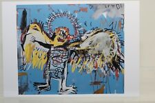 "JEAN-MICHEL BASQUIAT: ""FALLEN ANGEL"" 1981, rare Art-Postcard  NEW"