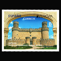 "Spain 2017 - EUROPA Stamps ""Palaces and Castles"" Architecture - MNH"