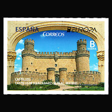 """Spain 2017 - EUROPA Stamps """"Palaces and Castles"""" Architecture - MNH"""