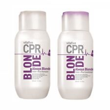 Vita 5 CPR Always Blonde Shampoo & Conditioner 300ml (VitaFive) Sulphate Free