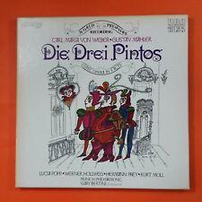 WEBER MAHLER Die Drei Pintos PRL39063 Vinyl VG++ 3 LP Box Set Cover VG++ Booklet