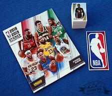 PANINI NBA Basketball 2018/19, complete loose stickers set + empty album