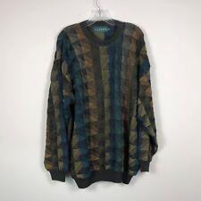"Tundra Canada Sweater XL Multi Color 90""s Biggie Hip Hop"