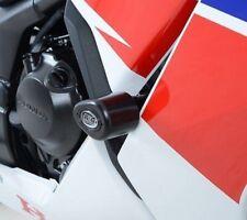 Honda CBR300R 2014 R&G Racing No-Mod Aero Crash Protectors CP0375BL Black